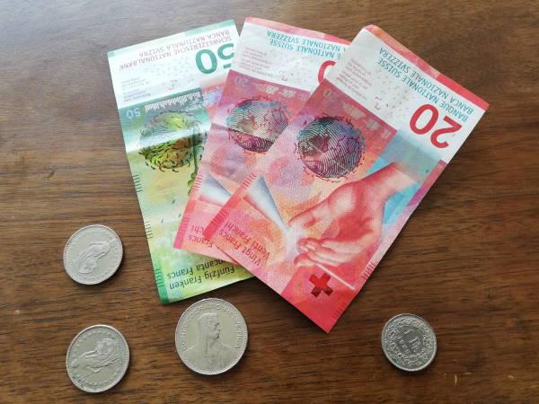 Foto-Geld-geschn